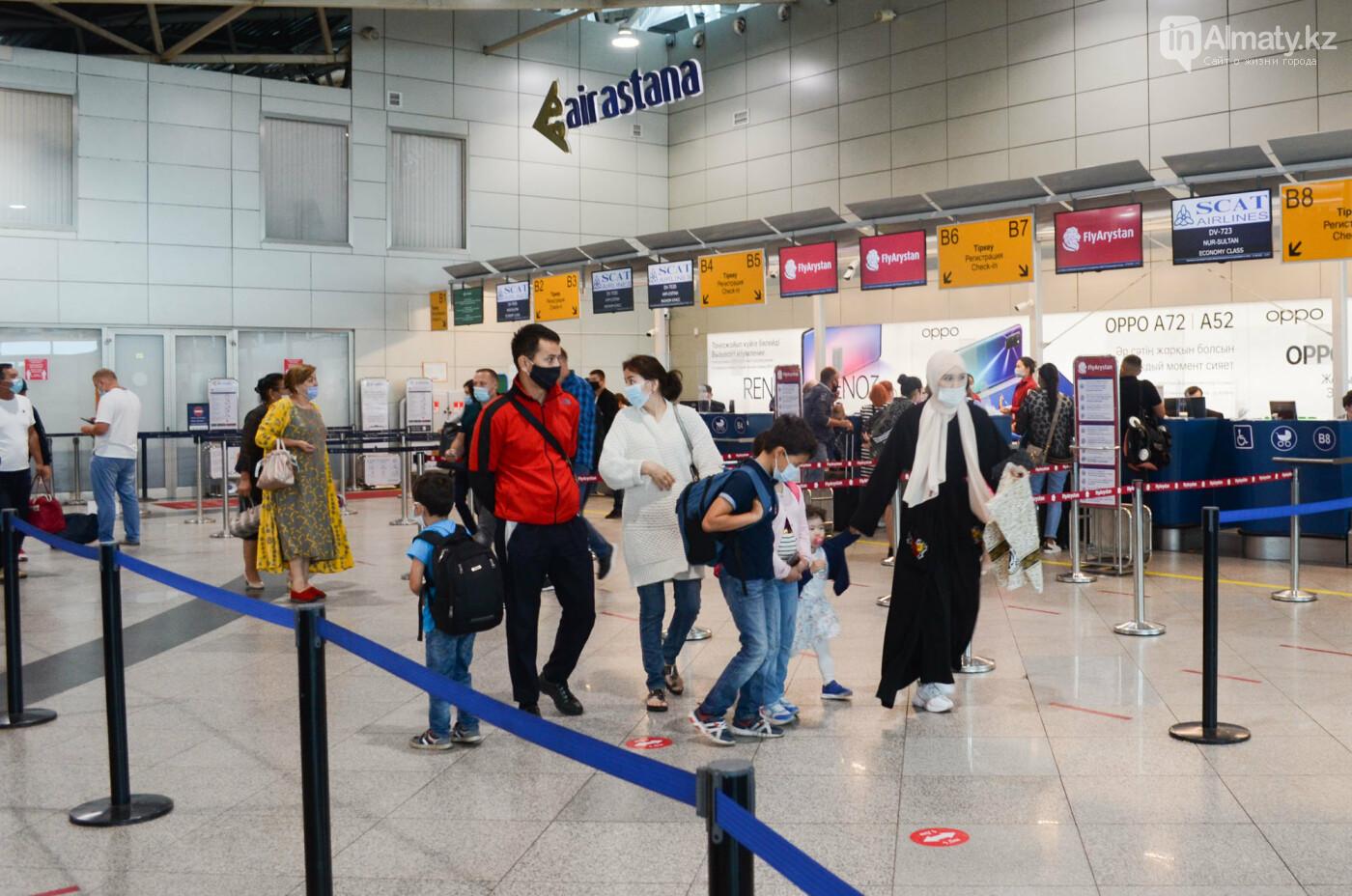 Как работает Международный аэропорт в Алматы в условиях карантина. Фото, фото-6