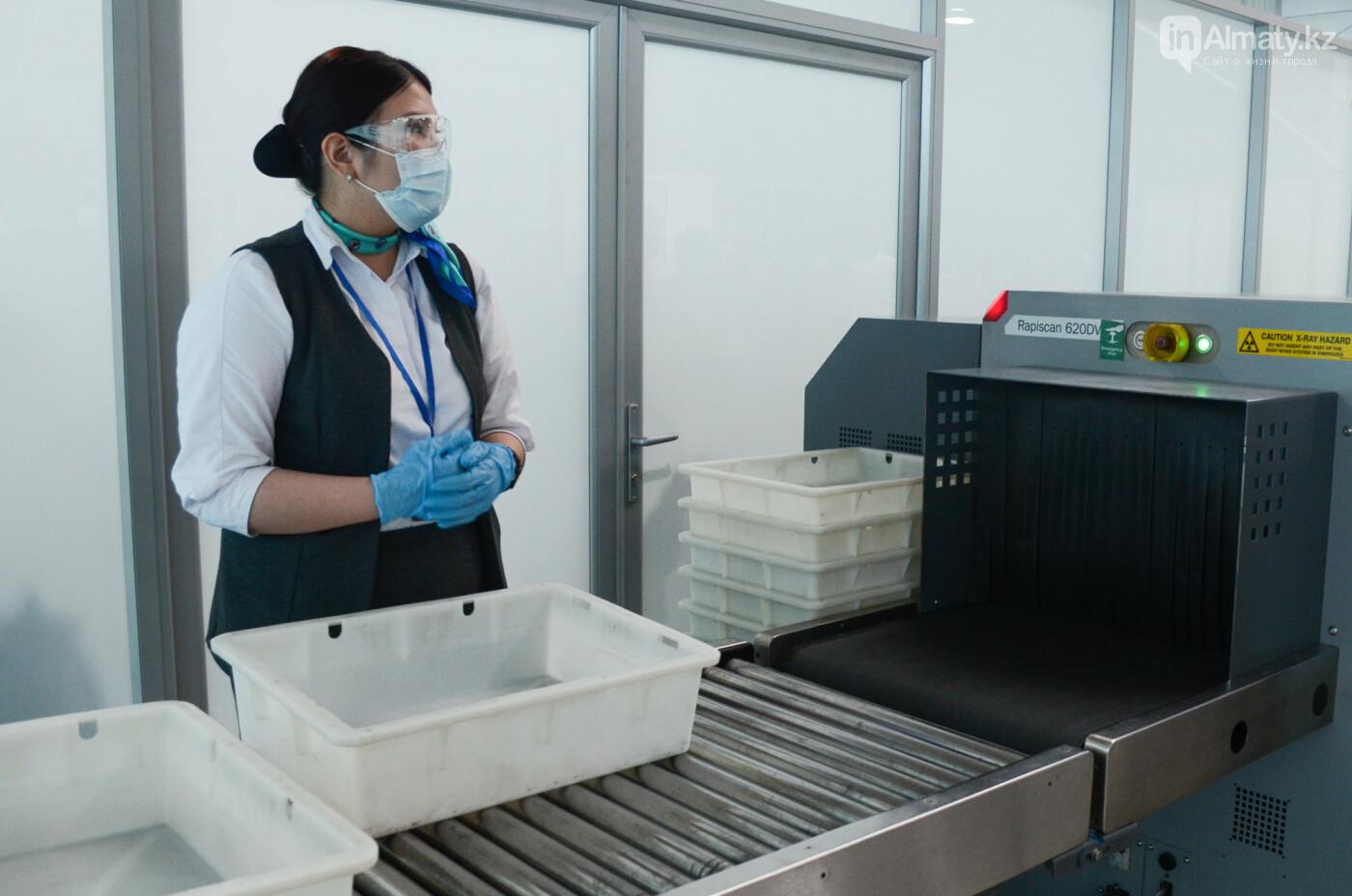 Как работает Международный аэропорт в Алматы в условиях карантина. Фото, фото-10
