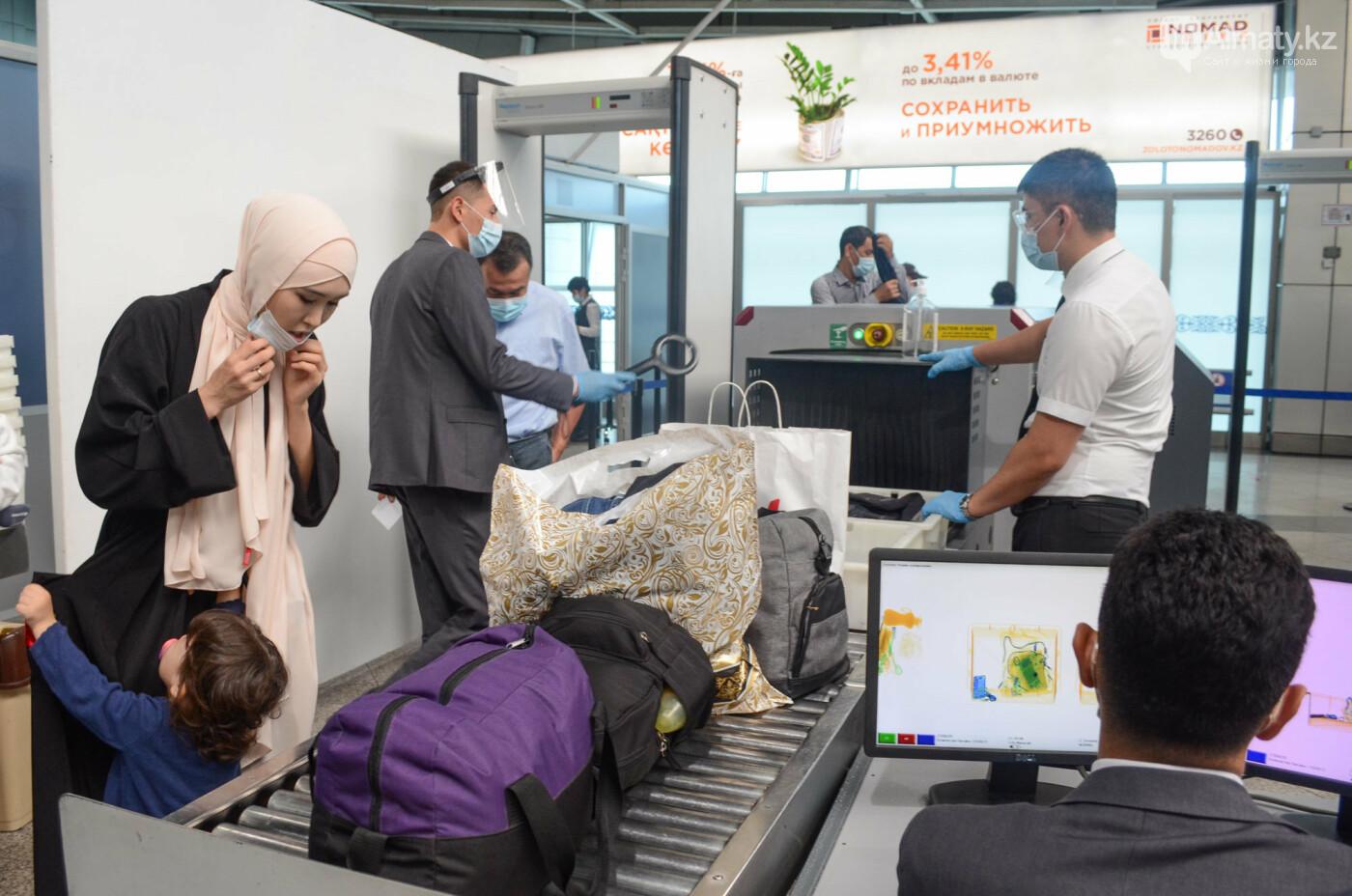 Как работает Международный аэропорт в Алматы в условиях карантина. Фото, фото-9