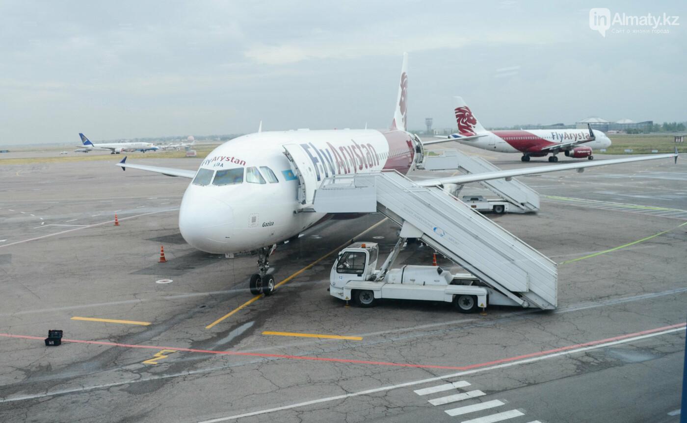 Как работает Международный аэропорт в Алматы в условиях карантина. Фото, фото-15