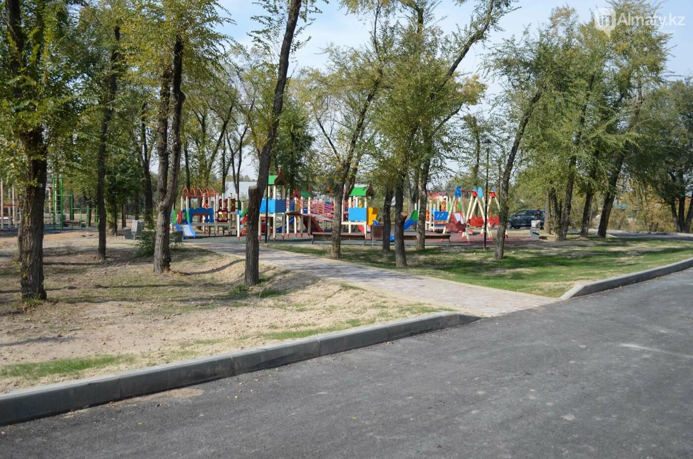 Как выглядит новый парк в зоне Аэропортовского озера и микрорайона Жас Канат в Алматы, фото-1