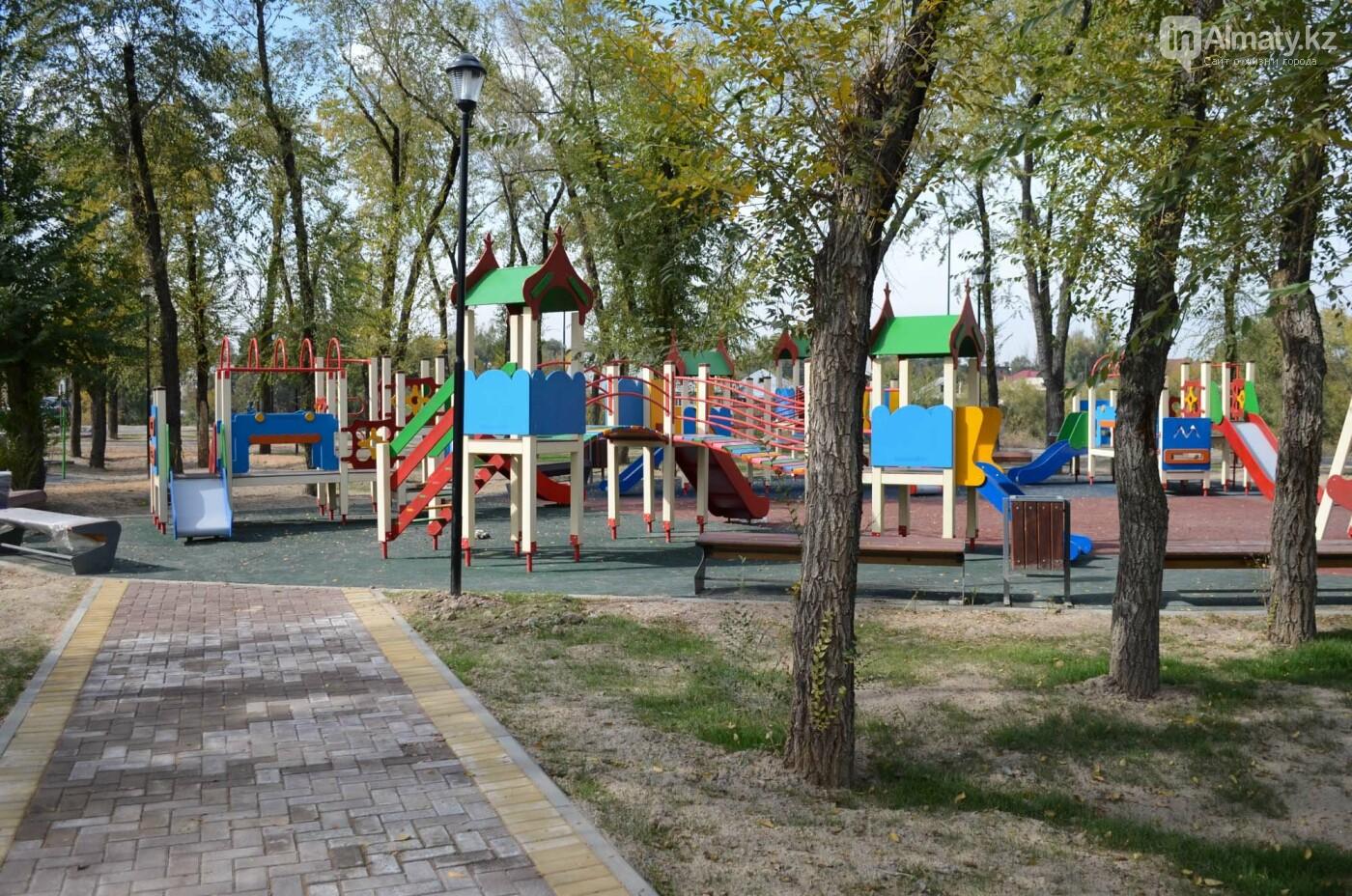 Как выглядит новый парк в зоне Аэропортовского озера и микрорайона Жас Канат в Алматы, фото-5