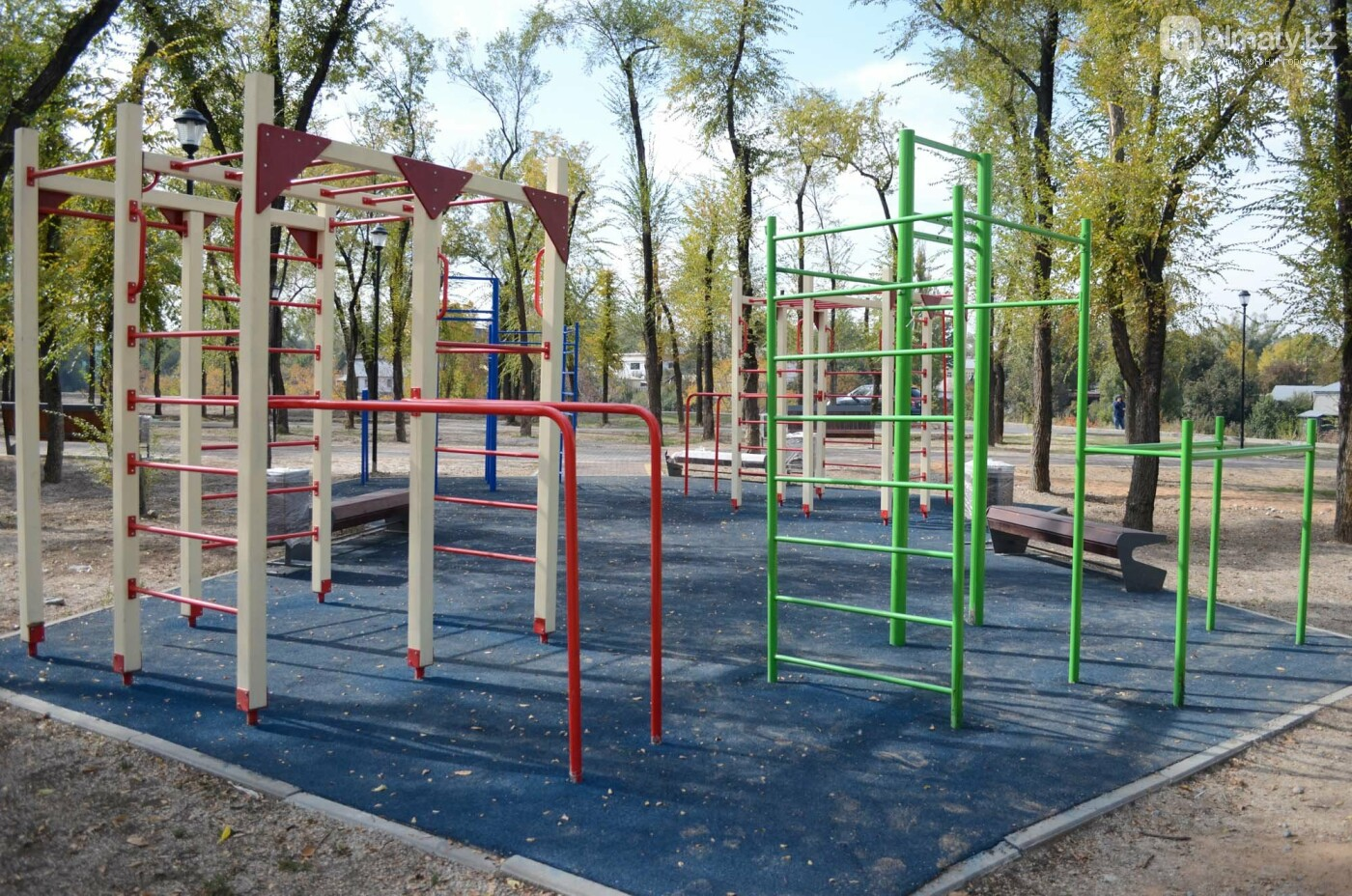 Как выглядит новый парк в зоне Аэропортовского озера и микрорайона Жас Канат в Алматы, фото-4