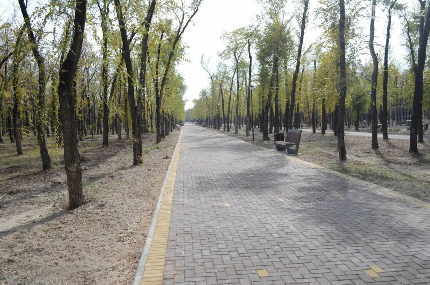 Как выглядит новый парк в зоне Аэропортовского озера и микрорайона Жас Канат в Алматы, фото-2