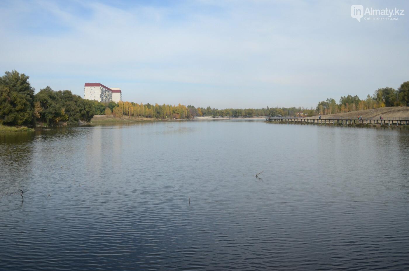 Как выглядит новый парк в зоне Аэропортовского озера и микрорайона Жас Канат в Алматы, фото-12