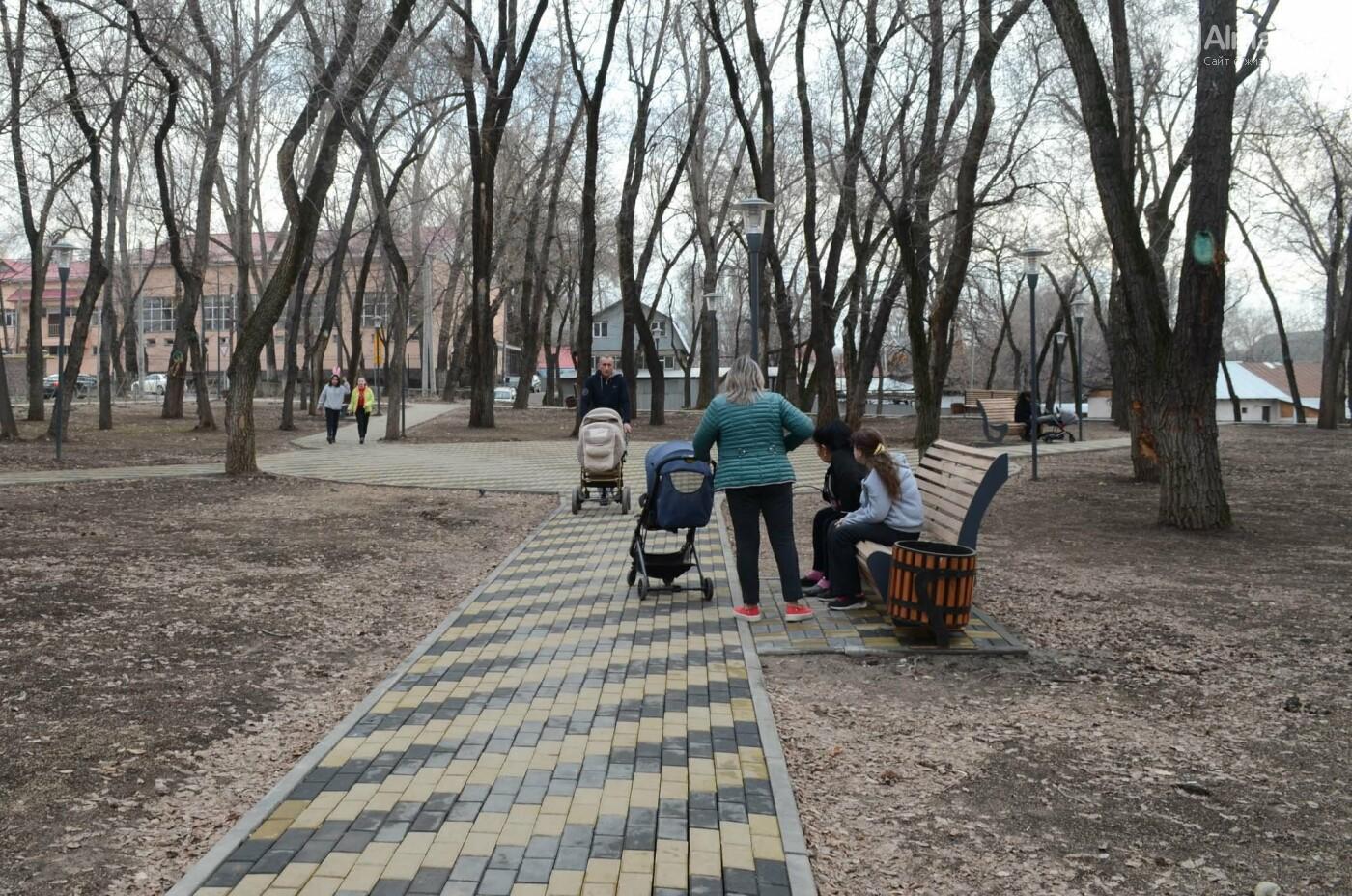 Как преобразился сквер «Шухова» в Медеуском районе Алматы после реконструкции, фото-8