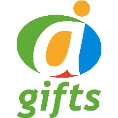 Логотип - GiftStor.kz (ГифтСтор), промо-сувениры и бизнес подарки с вашим логотипом в Казахстане
