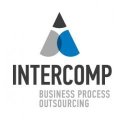 Логотип - Intercomp (Интеркомп) ТОО, аутсорсинг бизнес-процессов Алматы