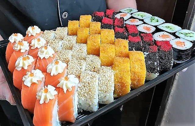 Bomba sushi (Бомба суши), доставка суши в Алматы