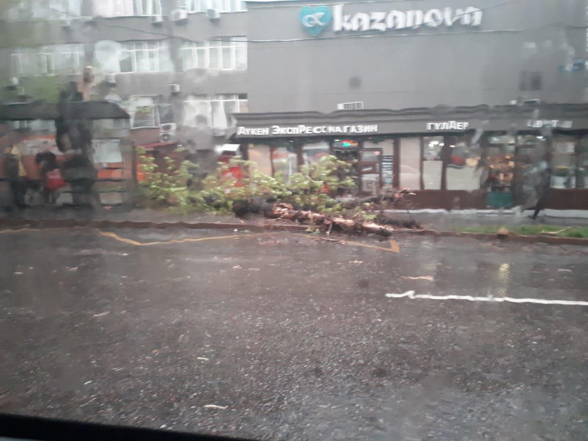 Вновь поплыли: Алматы во время дождя (ФОТО, ВИДЕО), фото-1