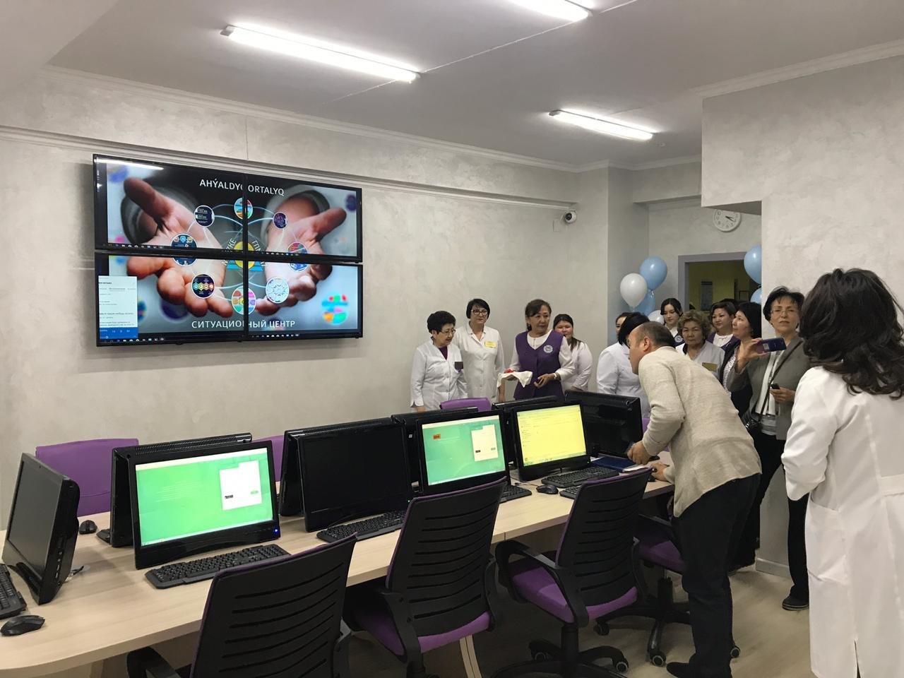 В поликлинике Алматы создали ситуационный центр, фото-3