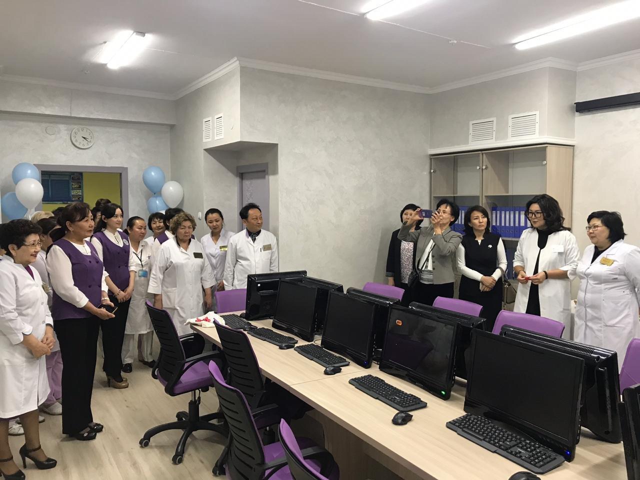 В поликлинике Алматы создали ситуационный центр, фото-1