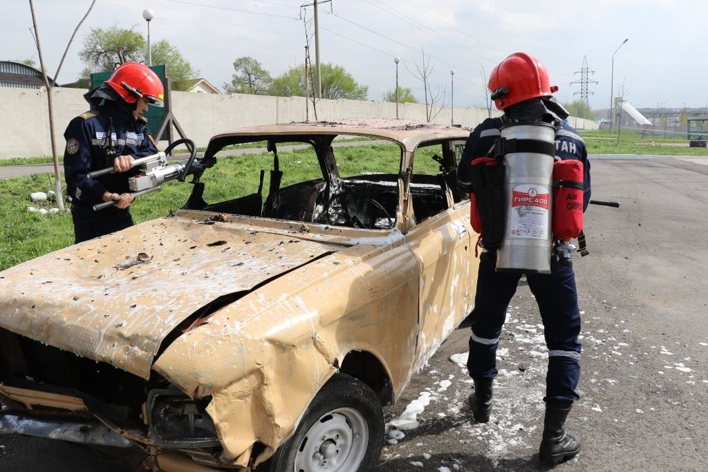 На дорогах Алматы начнут действовать пожарные-мотоциклисты (ФОТО), фото-3
