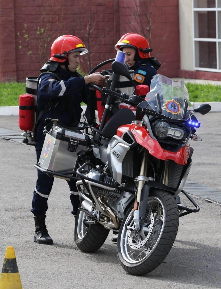 На дорогах Алматы начнут действовать пожарные-мотоциклисты (ФОТО), фото-2