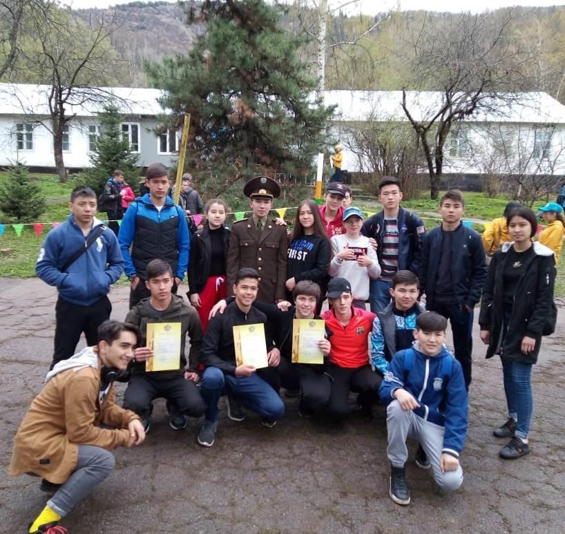 Алматинские школьники соревнуются на звание лучшего спасателя (ФОТО), фото-3