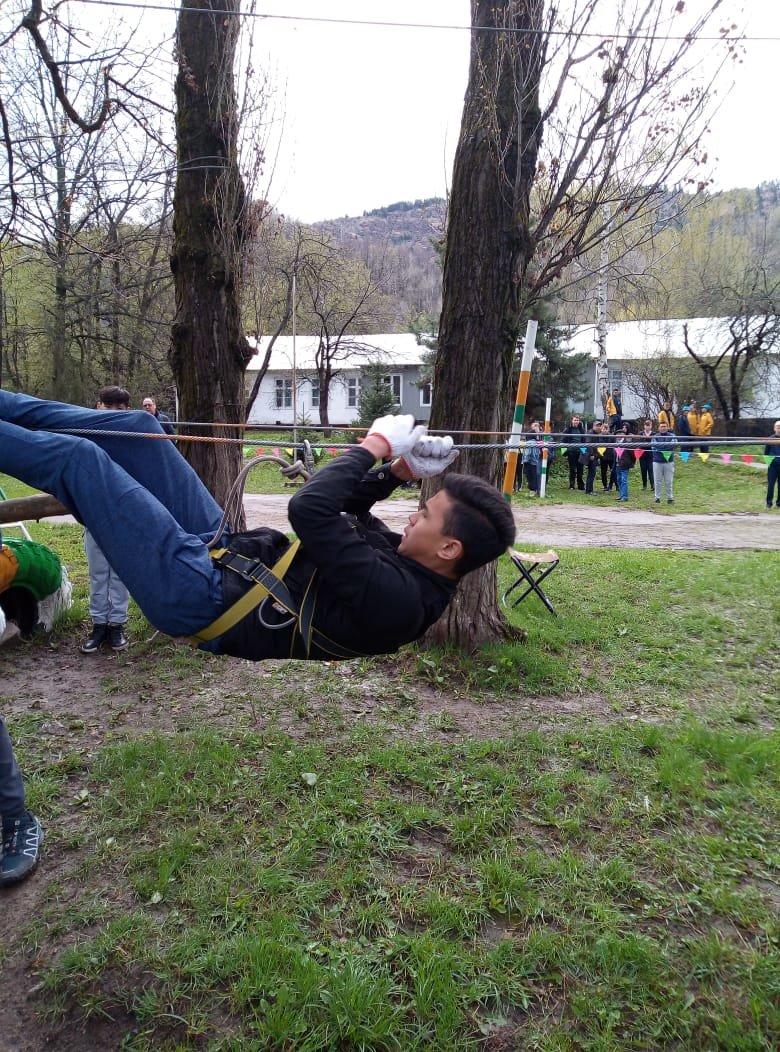 Алматинские школьники соревнуются на звание лучшего спасателя (ФОТО), фото-6