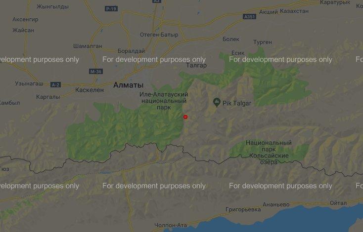 Землетрясение произошло недалеко от Алматы, фото-1