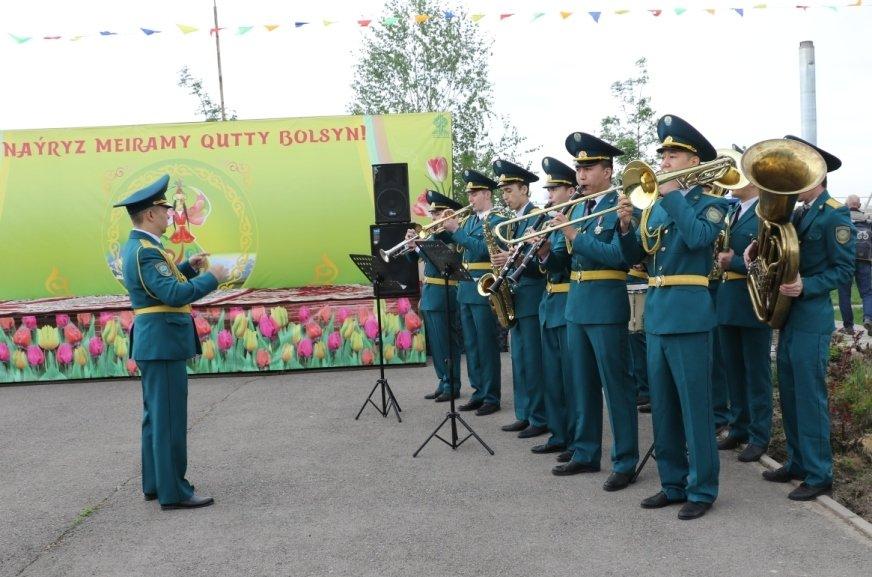 Алматинские спасатели отметили Наурыз (ФОТО), фото-7