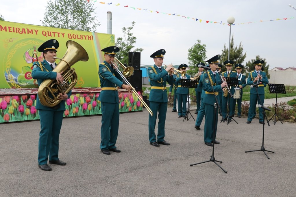 Алматинские спасатели отметили Наурыз (ФОТО), фото-8