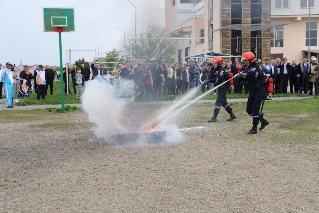 Алматинские спасатели отметили Наурыз (ФОТО), фото-33
