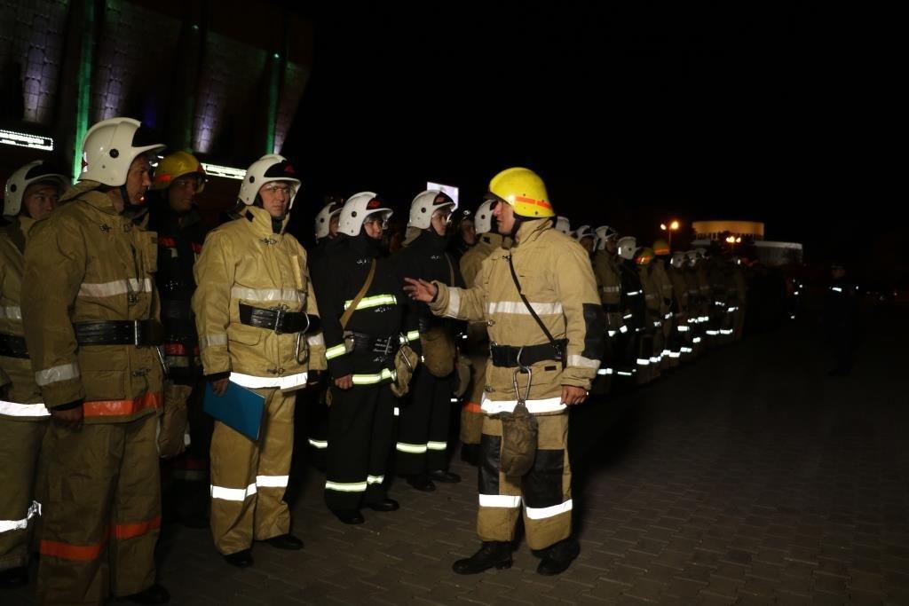 В Алматинском метрополитене потушили «пожар» (ФОТО), фото-1