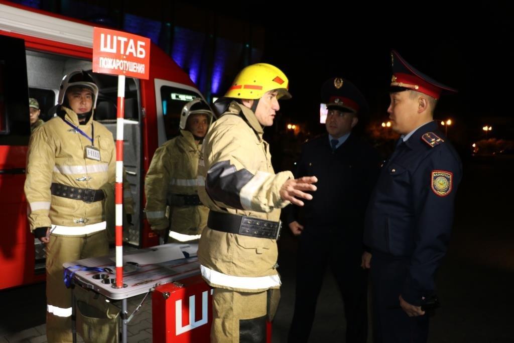 В Алматинском метрополитене потушили «пожар» (ФОТО), фото-2