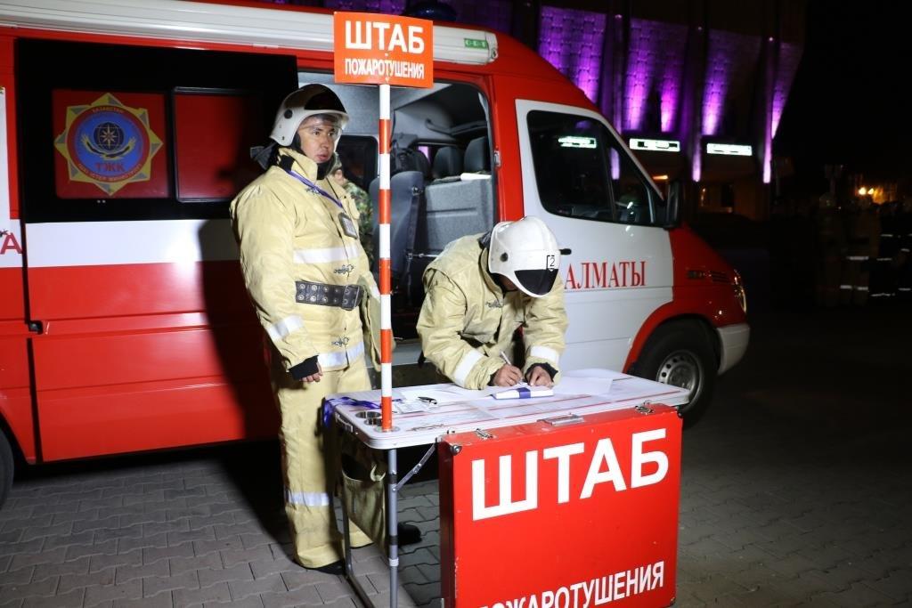 В Алматинском метрополитене потушили «пожар» (ФОТО), фото-3
