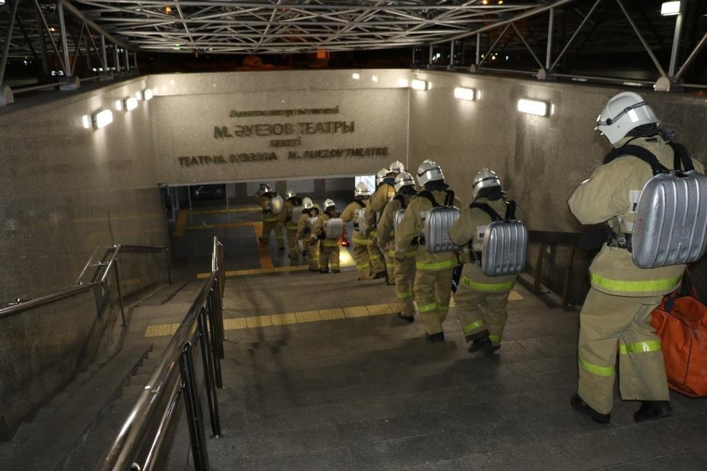 В Алматинском метрополитене потушили «пожар» (ФОТО), фото-4