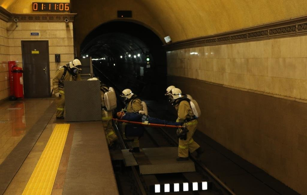 В Алматинском метрополитене потушили «пожар» (ФОТО), фото-5