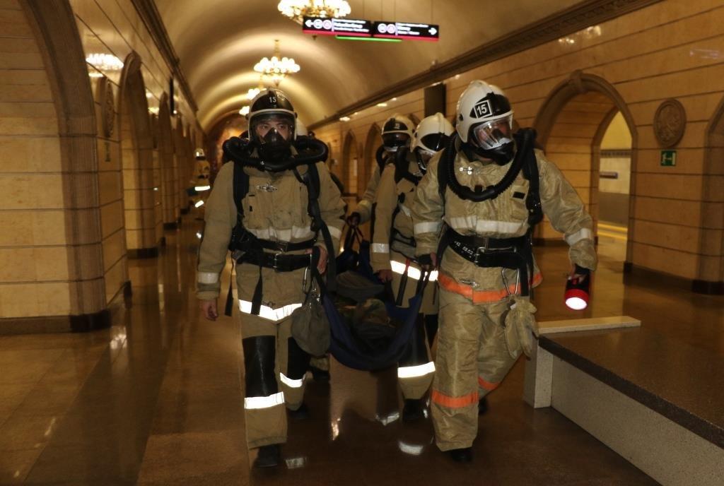 В Алматинском метрополитене потушили «пожар» (ФОТО), фото-8