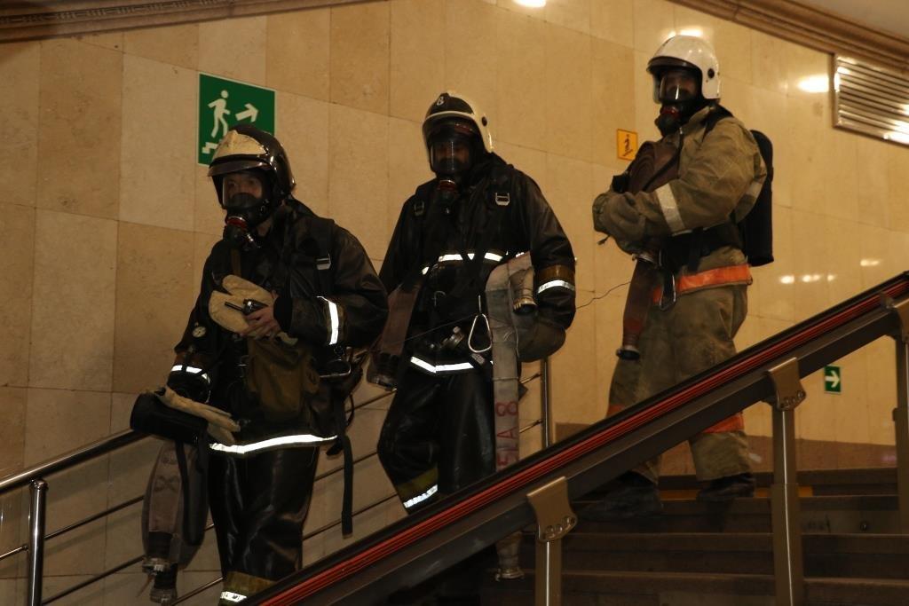 В Алматинском метрополитене потушили «пожар» (ФОТО), фото-10