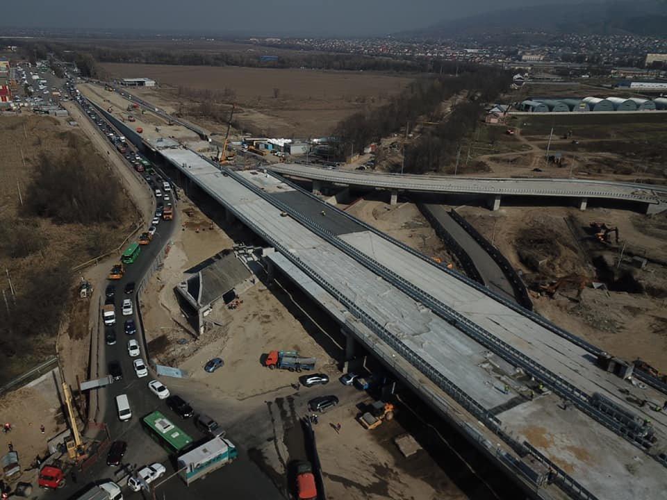 В декабре завершится строительство транспортной развязки на Рыскулова в Алматы (ФОТО), фото-3