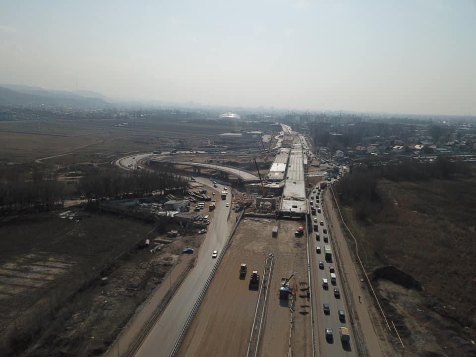 В декабре завершится строительство транспортной развязки на Рыскулова в Алматы (ФОТО), фото-2