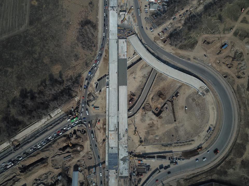 В декабре завершится строительство транспортной развязки на Рыскулова в Алматы (ФОТО), фото-1
