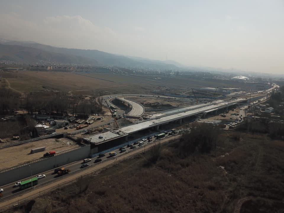 В декабре завершится строительство транспортной развязки на Рыскулова в Алматы (ФОТО), фото-5