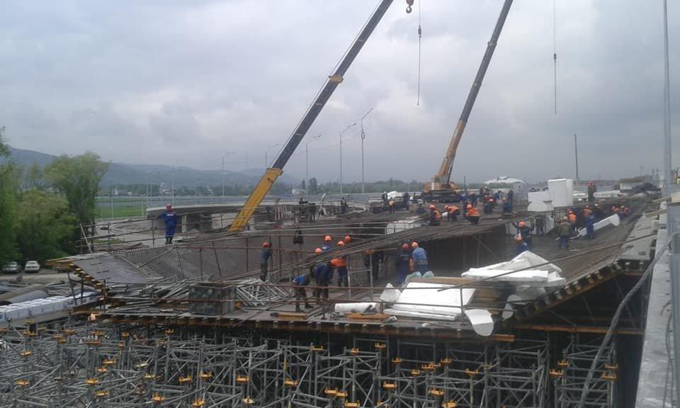 В декабре завершится строительство транспортной развязки на Рыскулова в Алматы (ФОТО), фото-10