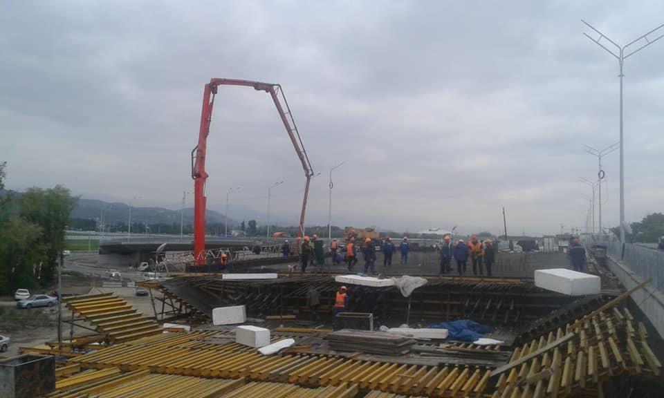 В декабре завершится строительство транспортной развязки на Рыскулова в Алматы (ФОТО), фото-8