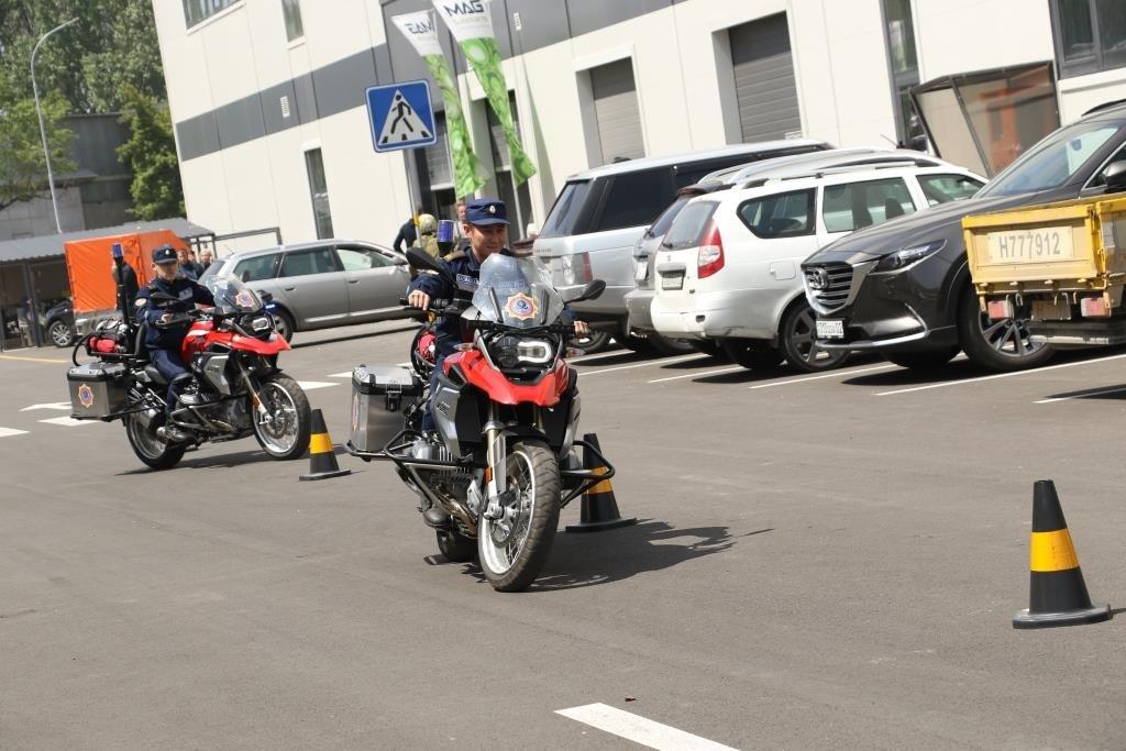 Алматинские мотопожарные участвовали в пробеге байкеров по мегаполису (ФОТО), фото-4