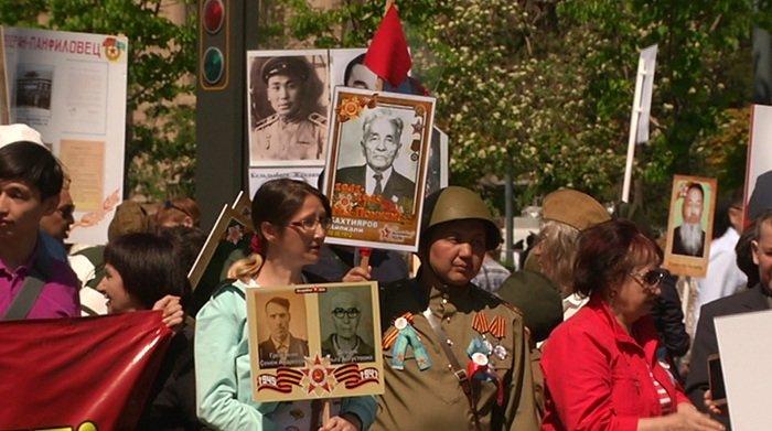 В Алматы прошел марш «Бессмертного полка» (ФОТО), фото-1