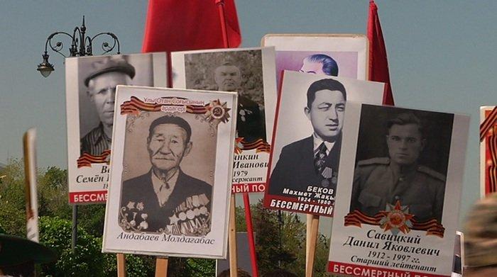 В Алматы прошел марш «Бессмертного полка» (ФОТО), фото-3