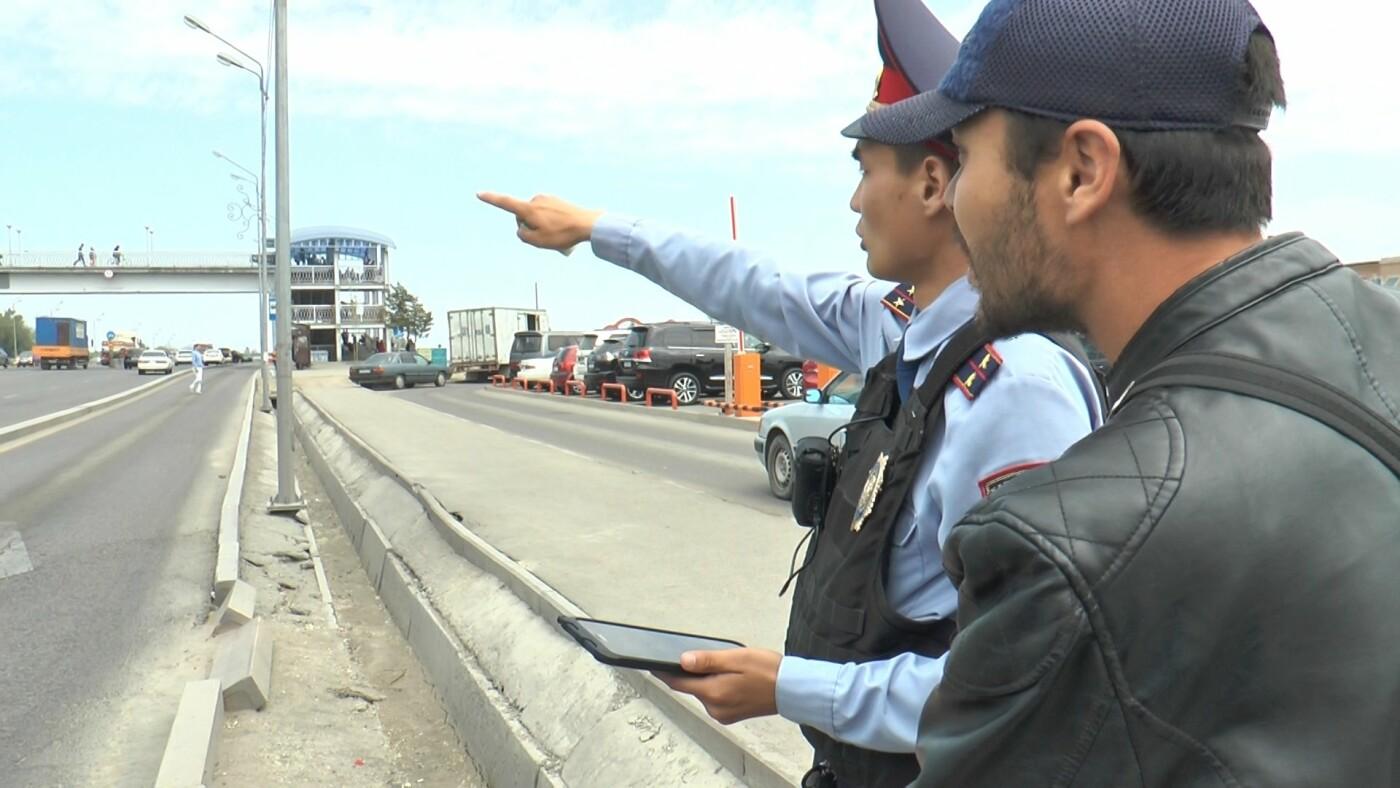 Алматинские полицейские занялись нарушающими правила пешеходами (ФОТО), фото-6