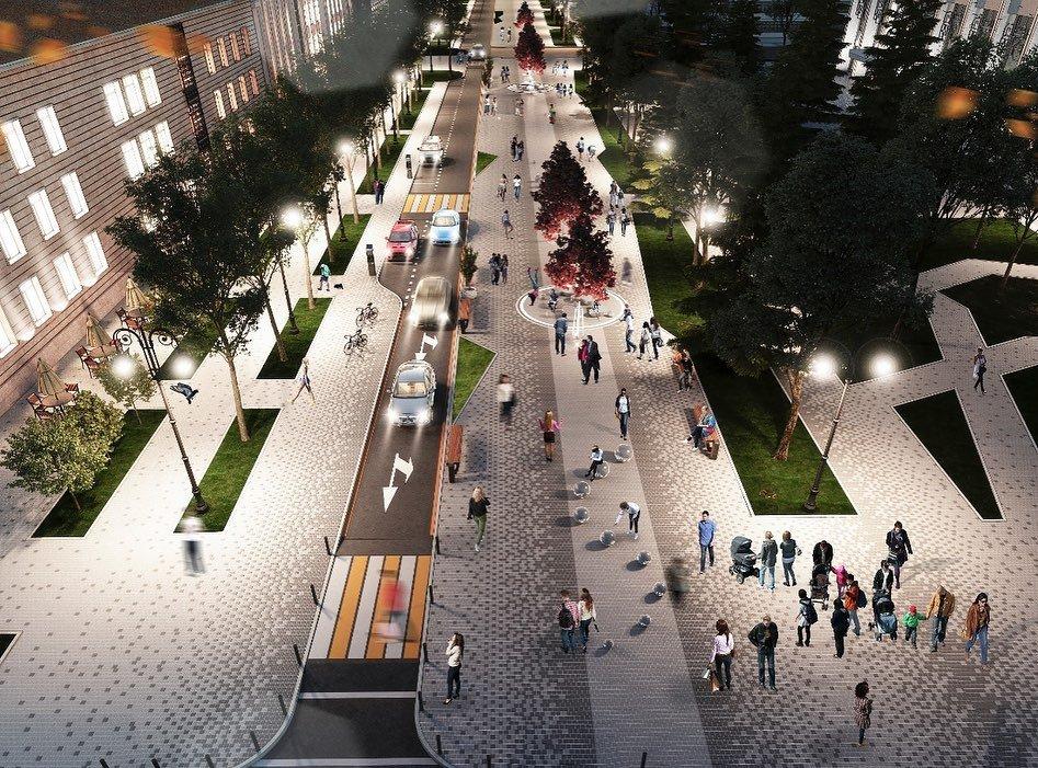 Байбек показал, какими станут три улицы Алматы после реконструкции (ФОТО), фото-4