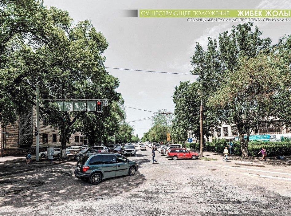 Байбек показал, какими станут три улицы Алматы после реконструкции (ФОТО), фото-5