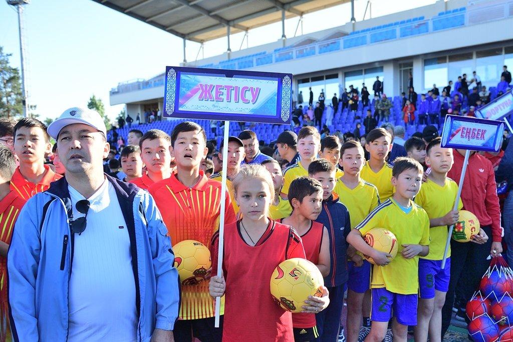 В Алматинской области прошел Фестиваль футбола (ФОТО), фото-8