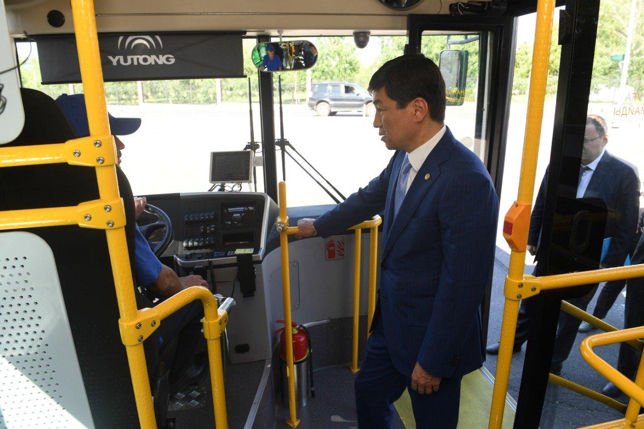 Новые автобусы вышли на маршрут №7 в Алматы, фото-2