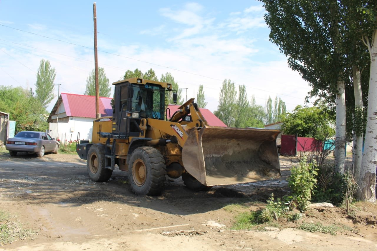В Алматинской области оценивают ущерб от подтопления села Пиджим (видео), фото-3