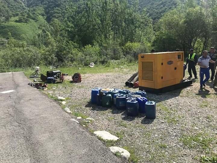 ДЧС Алматы беспокоит озеро-1, которое ранее стало причиной селя (фото), фото-2