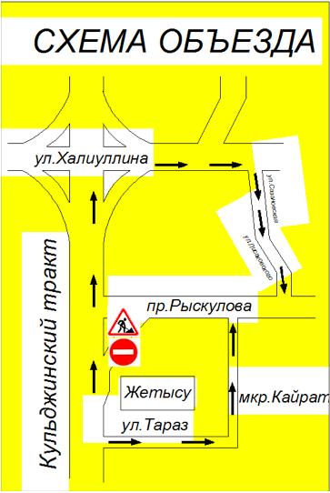 Движение для авто на Кульджинке ограничат на 10 дней, фото-1