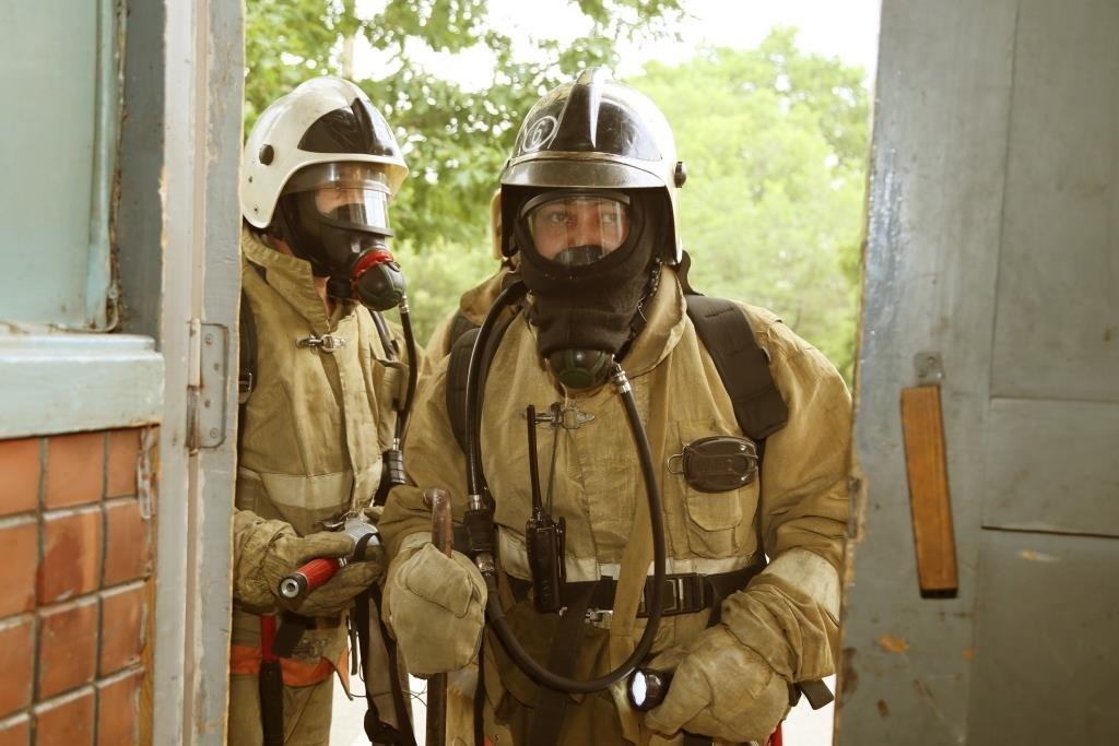 На Казахфильме «тушили» пожар (фото), фото-2