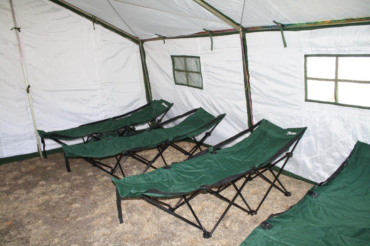 Палаточный лагерь развернули алматинские спасатели в Арыси , фото-3